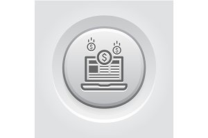 Monetization Icon. Business Concept