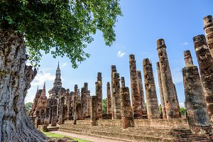 Ancient pagoda in Thailand