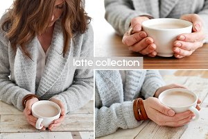 Woman Holding Warm Drink