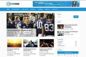 Encode WordPress Theme