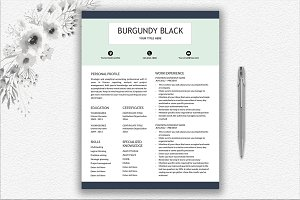 Resume Template & Writing Tips