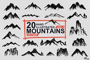 Hand Illustrated Mountain Vol. 2