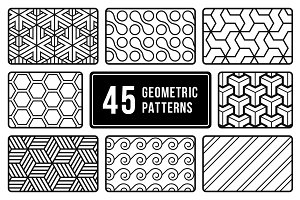 Minimal Geometric Patterns