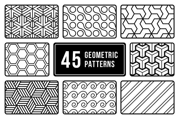 Minimal Geometric Patterns