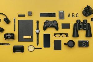 Social media concept header