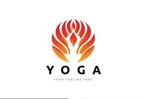 Yoga Fire Logo