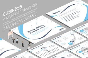 Business Powerpoint Template vol.14