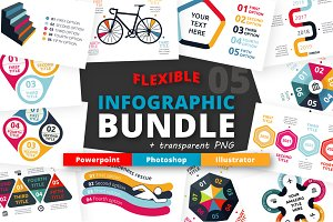 Flexible Infographic Bundle (vol.5)