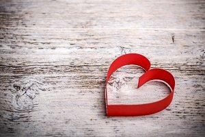 Valentine's paper heart