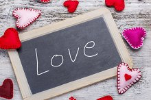 Love handwritten message