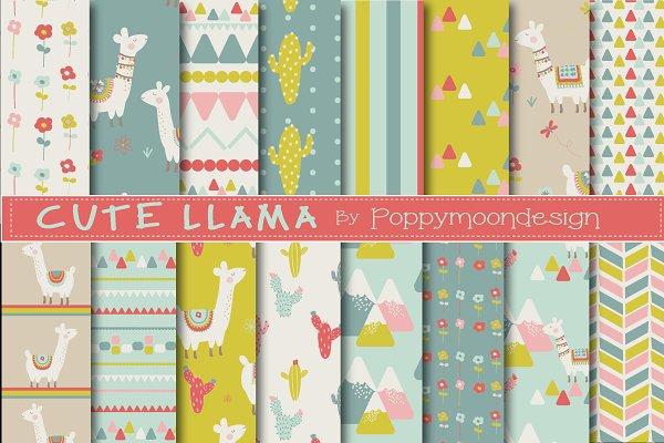 Cute llama paper