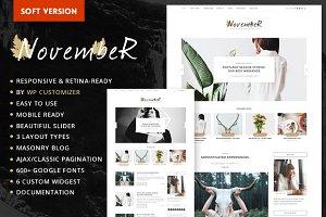 November Soft - Personal Blog Theme