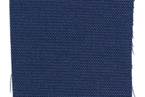 blue fabric swatch sample