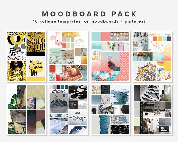 Mooboard 10 Template Pack