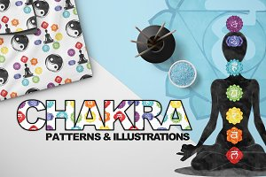 Chakra Symbols - Design Elements