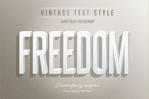 10 Vintage Text Styles