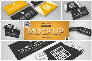 Business Card Mockup Set