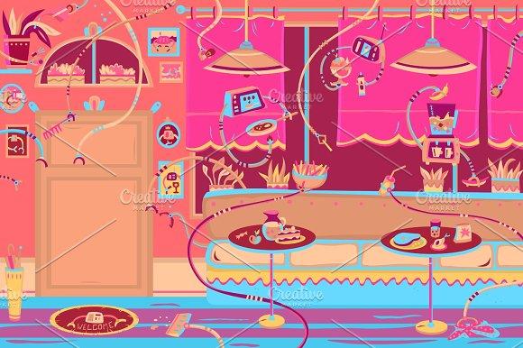 Restaurant With Robots