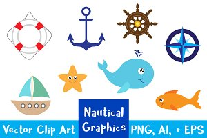 Nautical Clipart Graphics