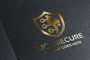 Lion Secure Logo