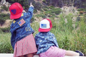 Cute Kids on 4th of July