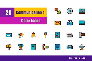 Communicatio Icons #1