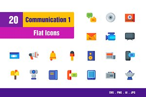 Communication Icons #1