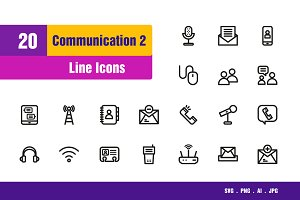 Communication Icons #2