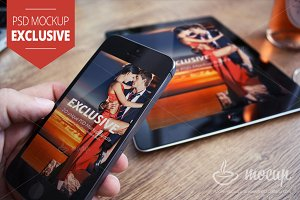 iPhone & iPad Mockup Exclusive