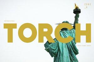 TORCH | A Bold Sans Serif Family