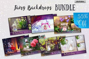 Fairy Backdrops Bundle