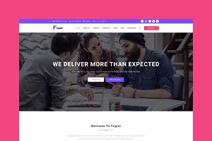 Fugiat - Marketing HTML Template