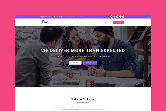 Fugiat Marketing HTML Template