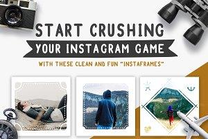 NOW ON SALE! Travel Instagram Frames