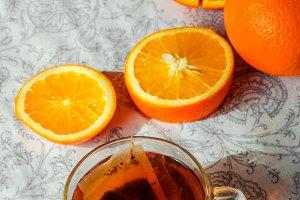 Vitamin orange tea
