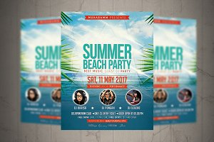 Summer Party Flyer / Poster