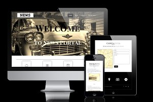 News - WordPress News Theme