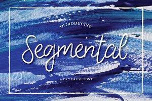 Segmental Typeface