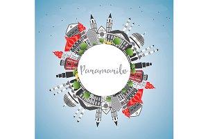 Paramaribo Skyline