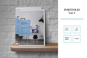 Portfolio Template Indesign Vol. V
