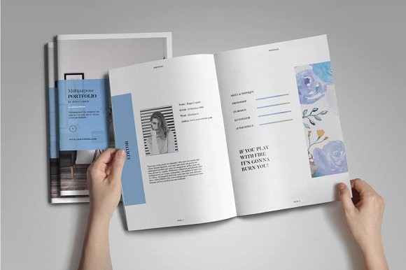Peppa Loppin Portfolio Vol. V in Brochure Templates - product preview 1