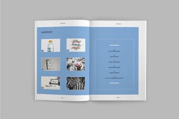 Peppa Loppin Portfolio Vol. V in Brochure Templates - product preview 2
