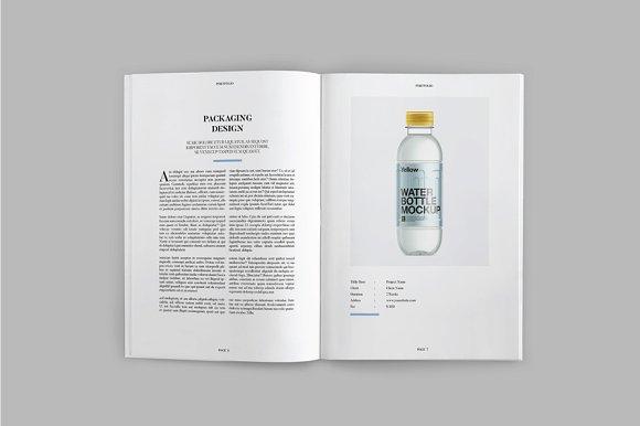 Peppa Loppin Portfolio Vol. V in Brochure Templates - product preview 3