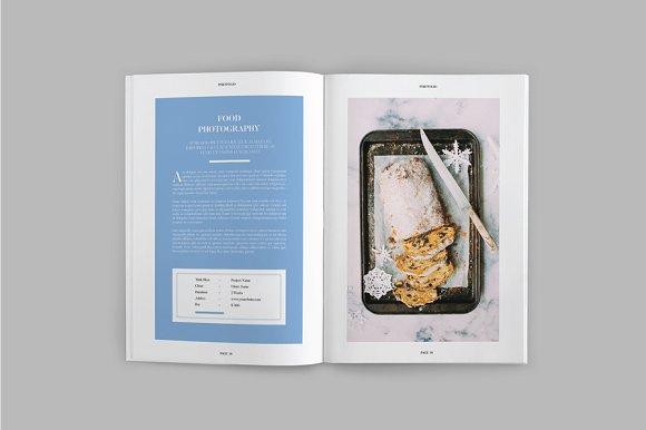 Peppa Loppin Portfolio Vol. V in Brochure Templates - product preview 4