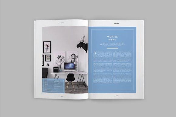 Peppa Loppin Portfolio Vol. V in Brochure Templates - product preview 5