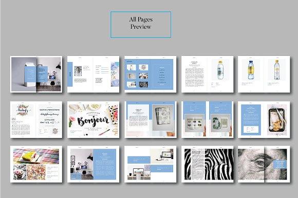 Peppa Loppin Portfolio Vol. V in Brochure Templates - product preview 8
