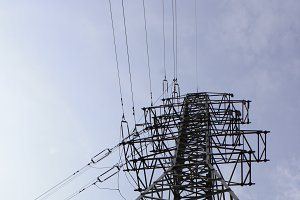 High voltage tower - energu pylon