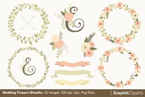 Wedding Flowers Wreaths