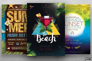 Summertime Flyer Bundle V2