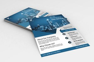 Corporate Flyer Template -V572
